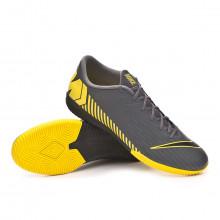 Zapatilla Mercurial VaporX XII Academy IC Dark grey-Black-Optical yellow