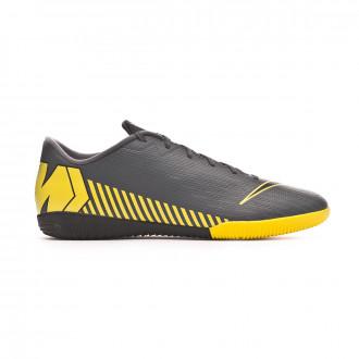 Zapatilla  Nike Mercurial VaporX XII Academy IC Dark grey-Black-Optical yellow