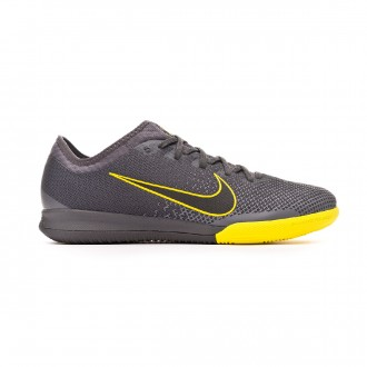 Zapatilla  Nike Mercurial VaporX XII Pro IC Anthracite-Optical yellow-Dark grey-Black