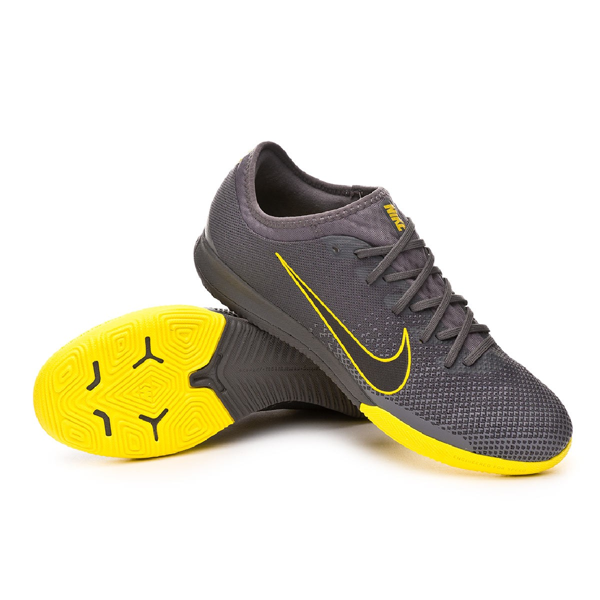the latest 0aeb5 49ad5 Zapatilla Mercurial VaporX XII Pro IC Anthracite-Optical yellow-Dark  grey-Black