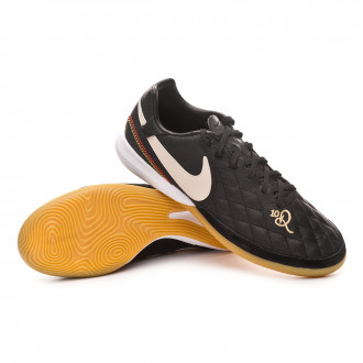 Sapatilha de Futsal  Nike Lunar LegendX VII Pro 10R IC Black-Light orewood-Metallic gold