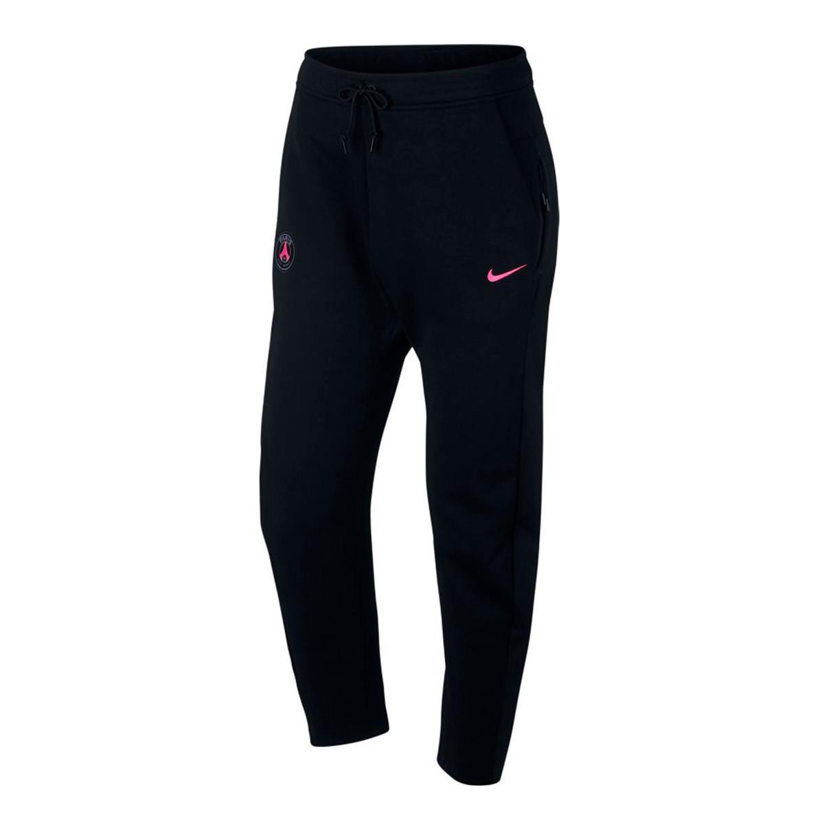 a9d5c39e43c3b5 Nike Paris Saint-Germain NSW Tech Fleece 2018-2019 PANT AUT Long pants.  Black-Hyper pink ...