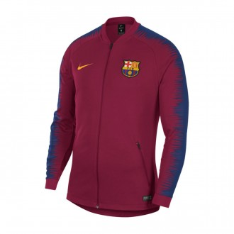 Casaco  Nike FC Barcelona Pre-Match 2018-2019 Noble red-University gold