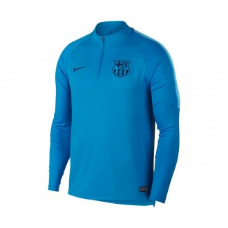 b1408d898 Sweatshirt Nike Dry FC Barcelona Squad 2018-2019 Equator blue-Coastal blue