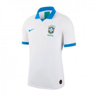 Camiseta  Nike Brasil Vapor Match Segunda Equipación Copa America 2018-2019 White-Soar