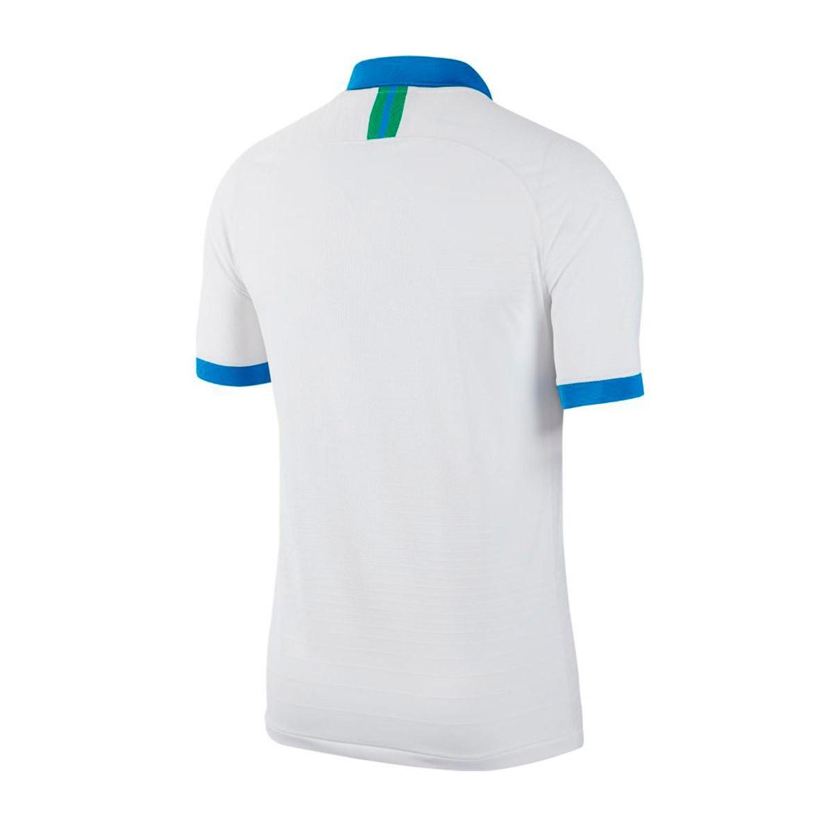 premium selection b7f62 0051f Camiseta Brasil Vapor Match Segunda Equipación Copa America 2018-2019  White-Soar