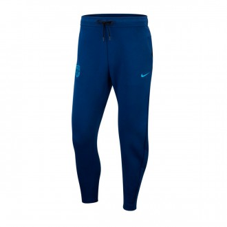 Calças  Nike FC Barcelona NSW Tech Fleece 2018-2019 Coastal blue-Equator blue