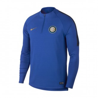 Sweatshirt  Nike Dry Inter Milan Squad 2018-2019 Game royal-Black-Truly gold