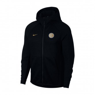 Jacket  Nike Inter Milan NSW Tech Fleece 2018-2019 Black-Truly gold