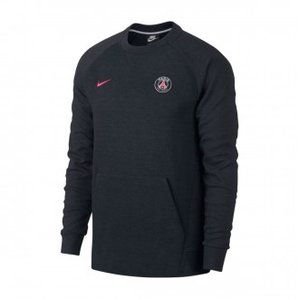 Sweatshirt  Nike NSW Paris Saint-Germain 2018-2019 Black-Anthracite-Hyper pink