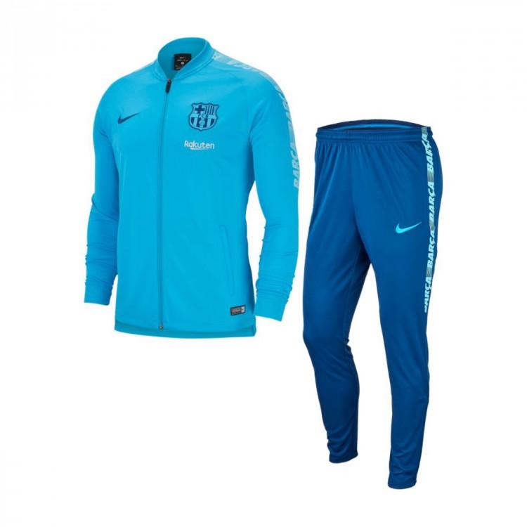 alineación Monografía siga adelante  Conjunto pants Nike Dry FC Barcelona Squad 2018-2019 Equator blue-Vivil  sky-Coastal blue - Tienda de fútbol Fútbol Emotion