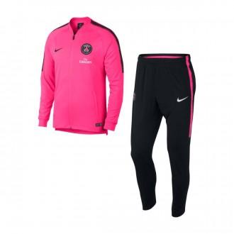 Fato de treino  Nike Paris Saint-Germain Squad 2018-2019 Hyper pink-Black