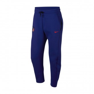 Long pants   Nike NSW Atlético de Madrid Tech Fleece 2018-2019 Deep royal blue-Bright crimson