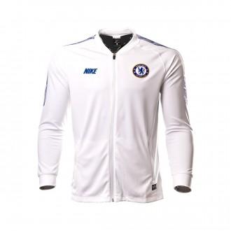 Jacket  Nike Dry Chelsea FC Squad 2018-2019 White-Rush blue