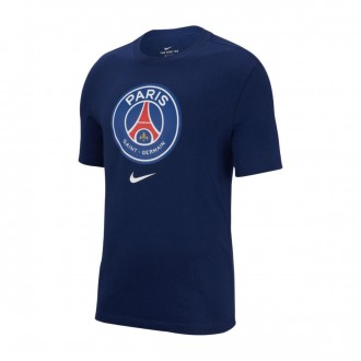 Camiseta  Nike Paris Saint-Germain Evergreen Crest 2018-2019 Midnight navy