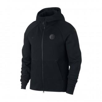 Giacca  Nike Manchester City FC Sportswear 2018-2019 Tech Fleece Black