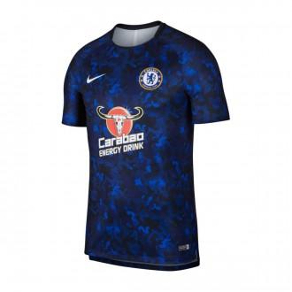Camisola  Nike Dry Chelsea FC Squad 2018-2019 Hyper cobalt-White
