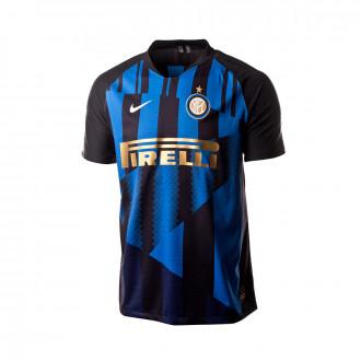 Camiseta Nike Inter Milan Vapor Match 20th Aniversario 2018-2019  Black-Royal blue- d9cf0886dee3c