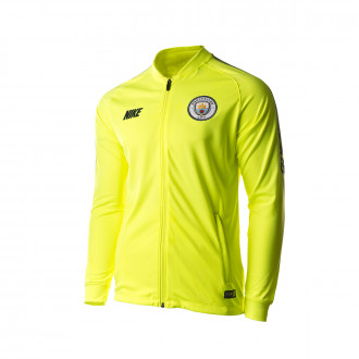Jacket  Nike Manchester City FC Dry Squad Training 2018-2019 Volt-Dark obsidian