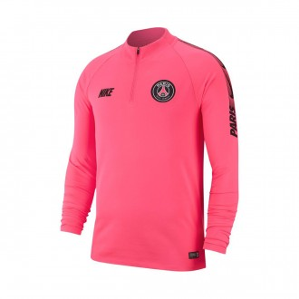 Sweatshirt  Nike Paris Saint-Germain Squad 2018-2019 Hyper pink-Black