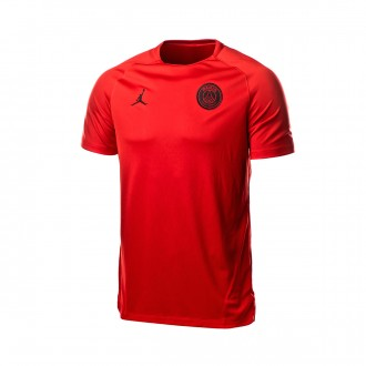 Maglia  Nike Paris Saint-Germain Dry Squad SS GX2 CL 2018-2019 University red-Black