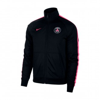 Giacca  Nike Paris Saint-Germain 2018-2019 Black-Hyper pink