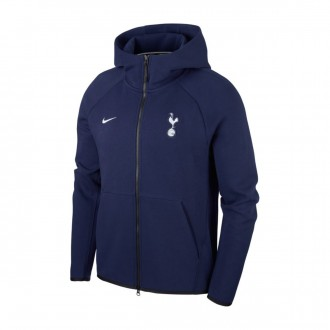Jacket  Nike NSW Tottenham Hotspur FC Tech Fleece 2018-2019 Binary blue-White