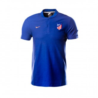 Polo shirt  Nike Atlético de Madrid 2018-2019 Deep royal blue-Bright crimson