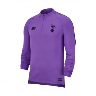 Sweatshirt  Nike Dry Tottenham Hotspur FC Squad 2018-2019 Hyper grape-Black