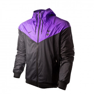 Chaqueta Nike Tottenham Hotspur FC Windrunner 2018-2019 Black Hyper  grape-Black d57a1432c56