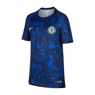 Camisola  Nike Dry Chelsea FC Squad 2018-2019 Niño Hyper cobalt-Rush blue-White