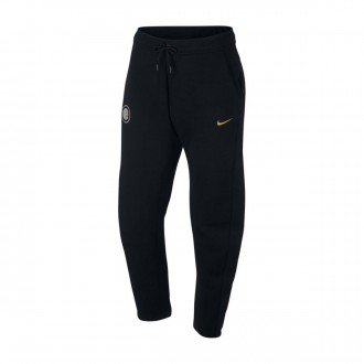 Long pants   Nike Inter Milan NSW Tech Fleece 2018-2019 Black-Truly gold