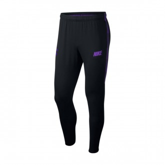 Long pants   Nike Dry Tottenham Hotspur FC Squad 20108-2019 Black-Hyper grape