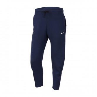 Long pants   Nike NSW Tottenham Hotspur FC Tech Fleece 2018-2019 Binary blue-White