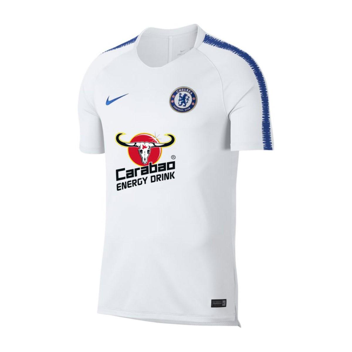 official photos f3760 c9261 Camiseta Chelsea FC Squad 2018-2019 White-Rush blue