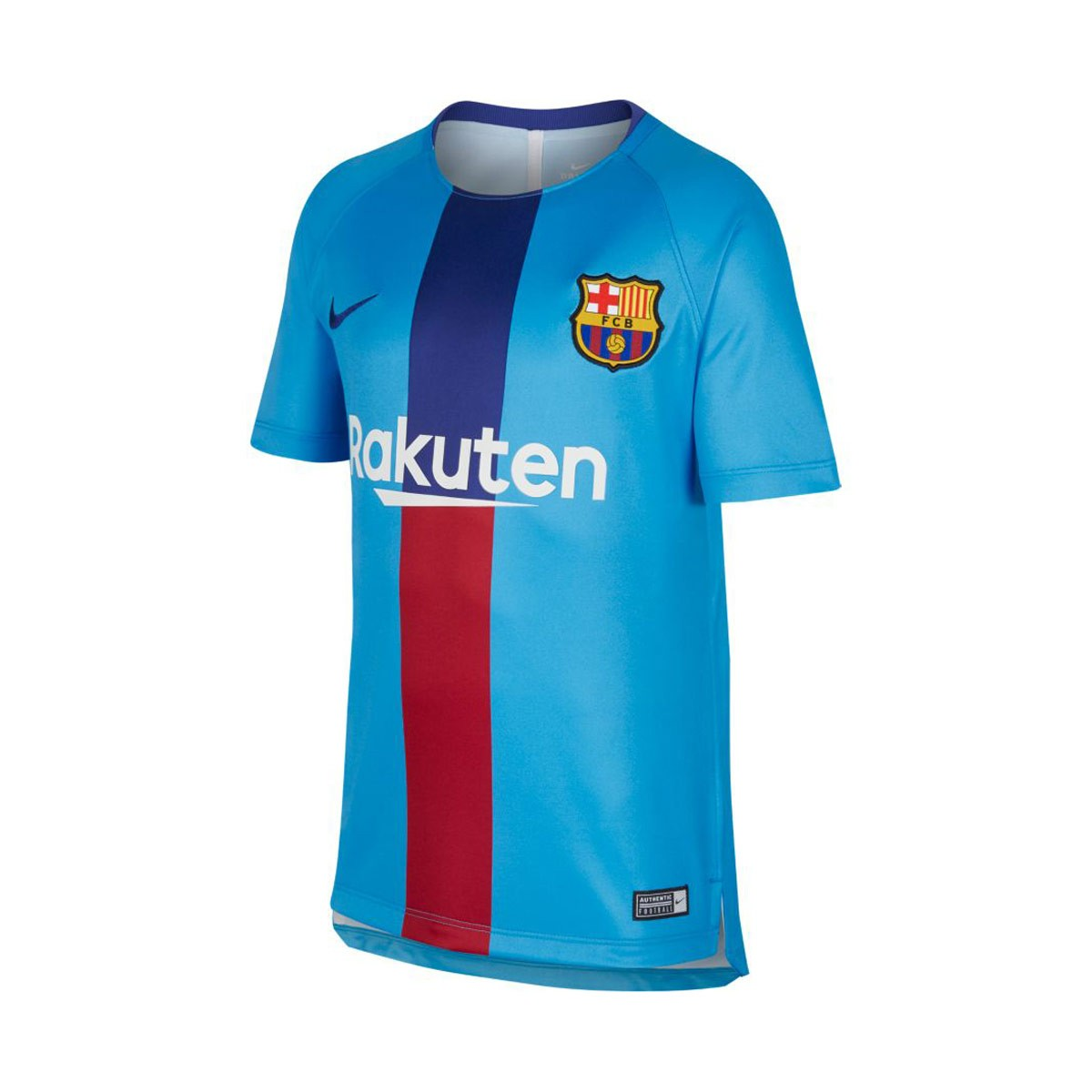e6aab0f96522f Camiseta Dry FC Barcelona Squad 2018-2019 Niño Equator blue-Deep royal blue