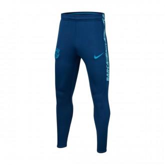 Pantalón largo  Nike Dry FC Barcelona Squad 2018-2019 Niño Coastal blue-Vivid sky-Equator blue
