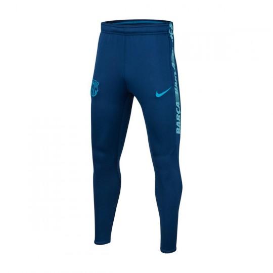 Pantalon Nike Dry FC Barcelone Squad 2018 2019 enfant Coastal blue Vivid sky Equator blue