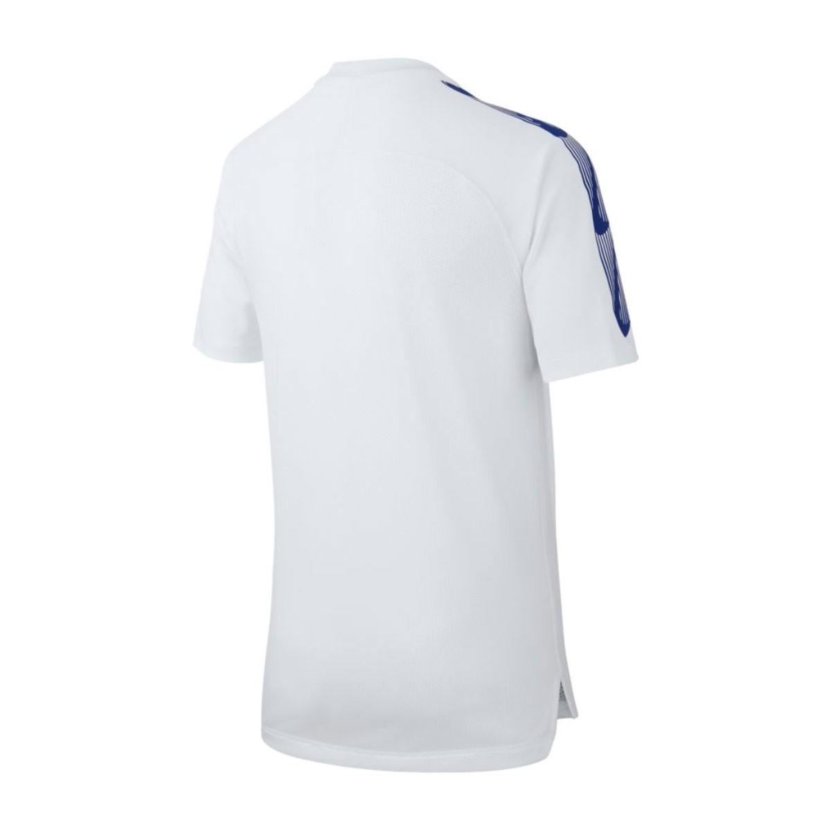 ac6ad74efb215 Camiseta Nike Chelsea FC Squad 2018-2019 Niño White-Rush blue - Tienda de fútbol  Fútbol Emotion