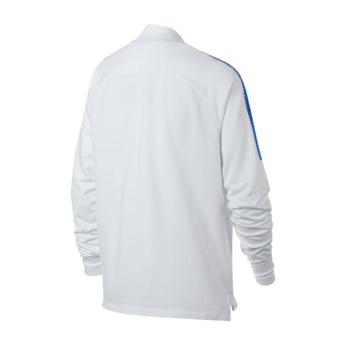 40a921aa39931 Sweatshirt Nike Kids Dry Chelsea FC Squad 2018-2019 White-Rush blue -  Football store Fútbol Emotion