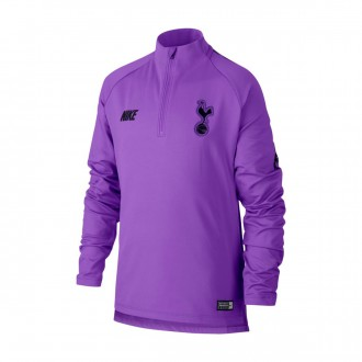 Sweatshirt  Nike Kids Dry Tottenham Hotspur Squad 20108-2019  Hyper grape-Black