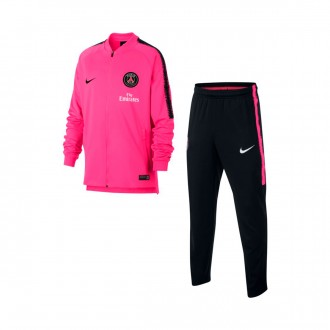 Tuta  Nike Paris Saint-Germain Squad 2018-2019 Junior Hyper pink-Black