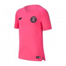 Camiseta Paris Saint-Germain Squad 2018-2019 Niño Hyper pink-Black