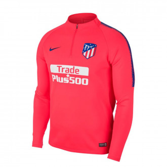 Sudadera  Nike Dry Atlético de Madrid Squad 2018-2019 Niño Bright crimson-Deep royal blue