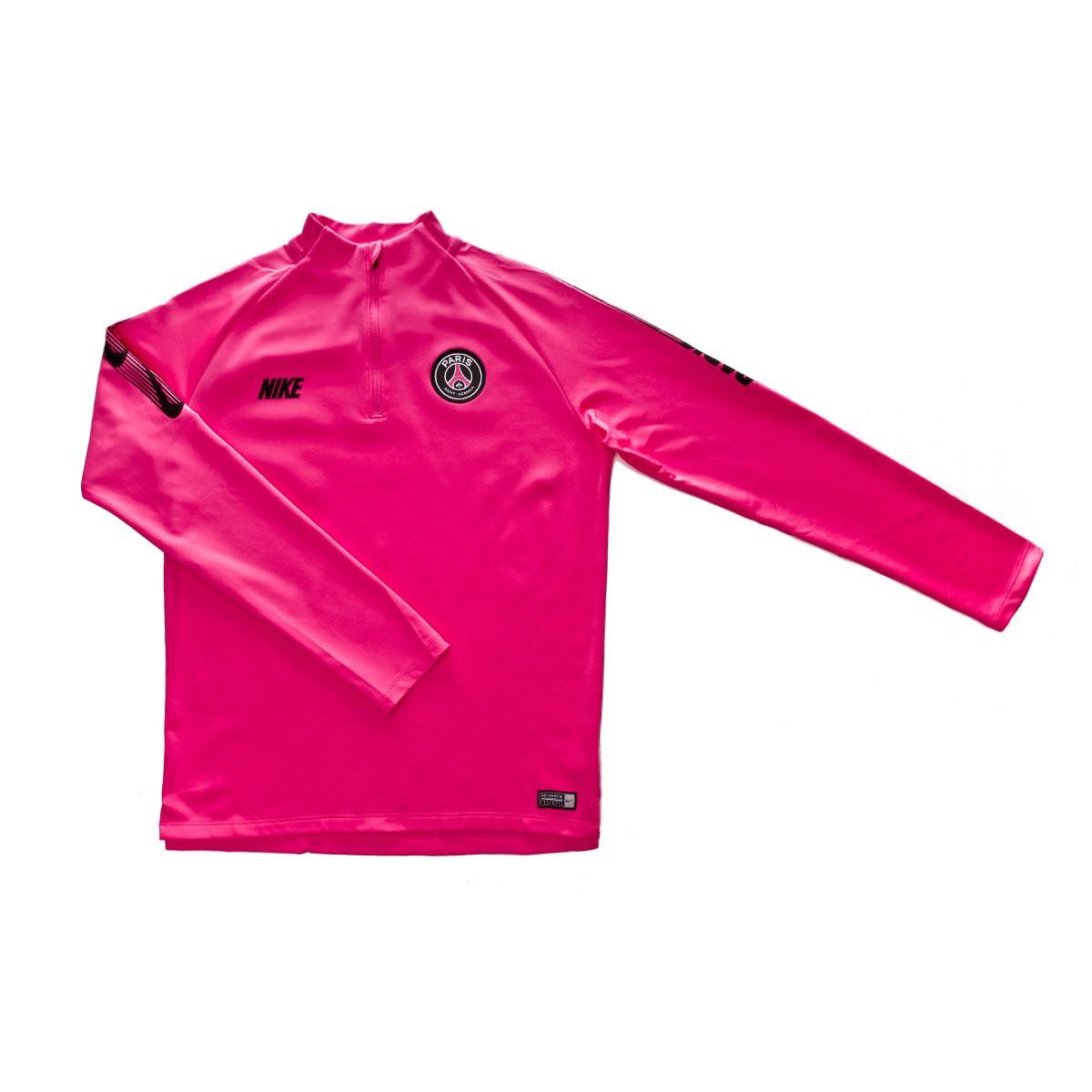 7db735589f0ff6 Sweatshirt Nike Paris Saint-Germain Squad 2018-2019 NIño Hyper pink ...