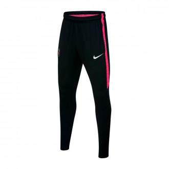 Long pants   Nike Paris Saint-Germain Squad 2018-2019 Niño Black-Hyper pink-White