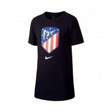 Camiseta Atlético Madrid Evergreen 2018-2019 Niño Black