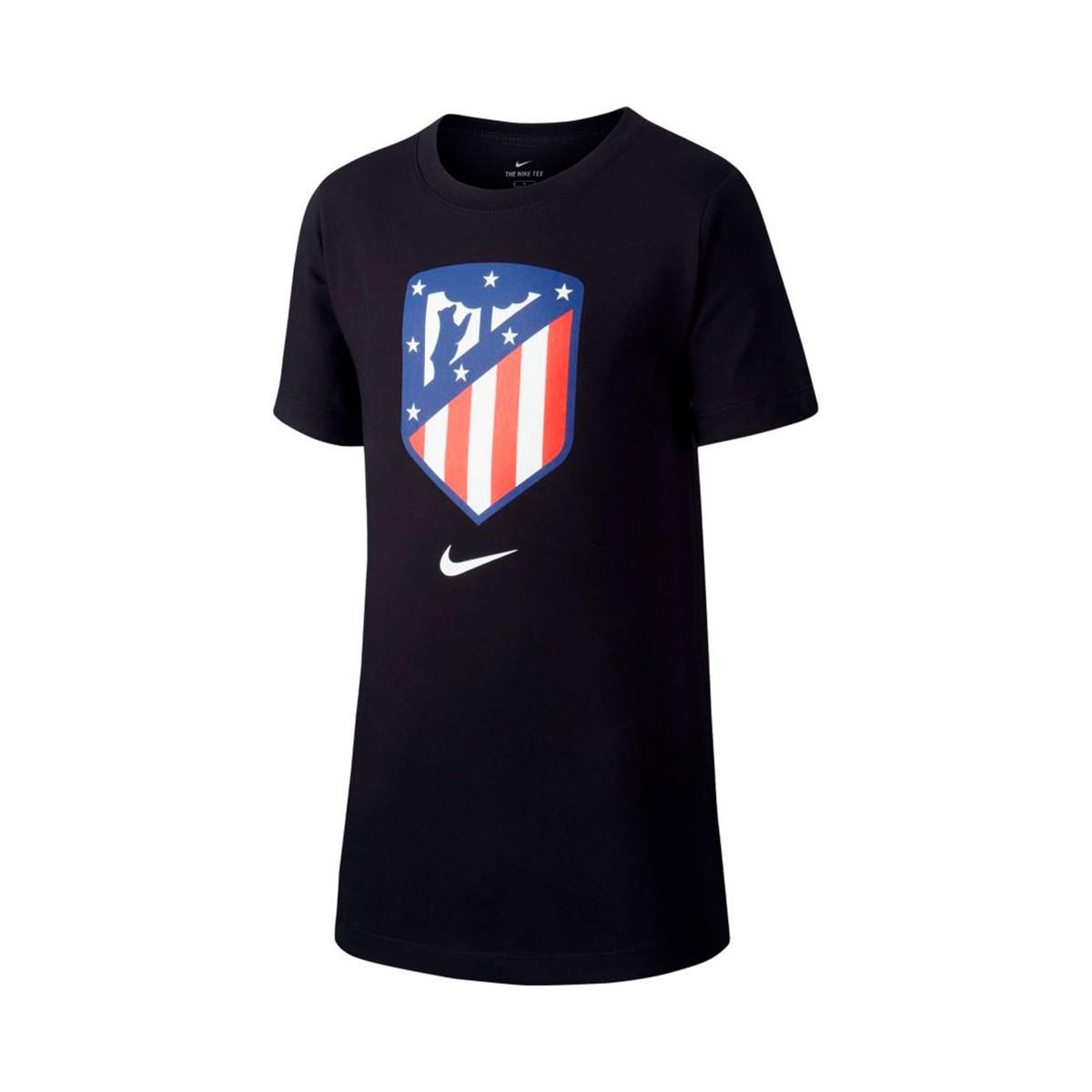 Jersey Nike Atlético Madrid Evergreen 2018-2019 Niño Black ... 3a4bcbdc54a