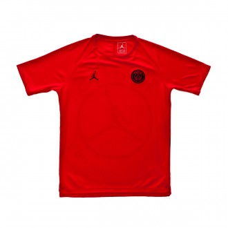 Playera  Nike Paris Saint-Germain Dry Squad SS GX CL 2018-2019 Niño University red-Black