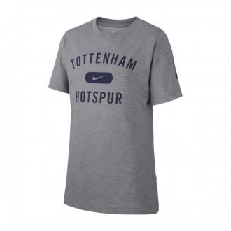 Maillot  Nike Tottenham Hostpur FC Dry SLUB PRSSN 2018-2019 enfant Dark steel grey